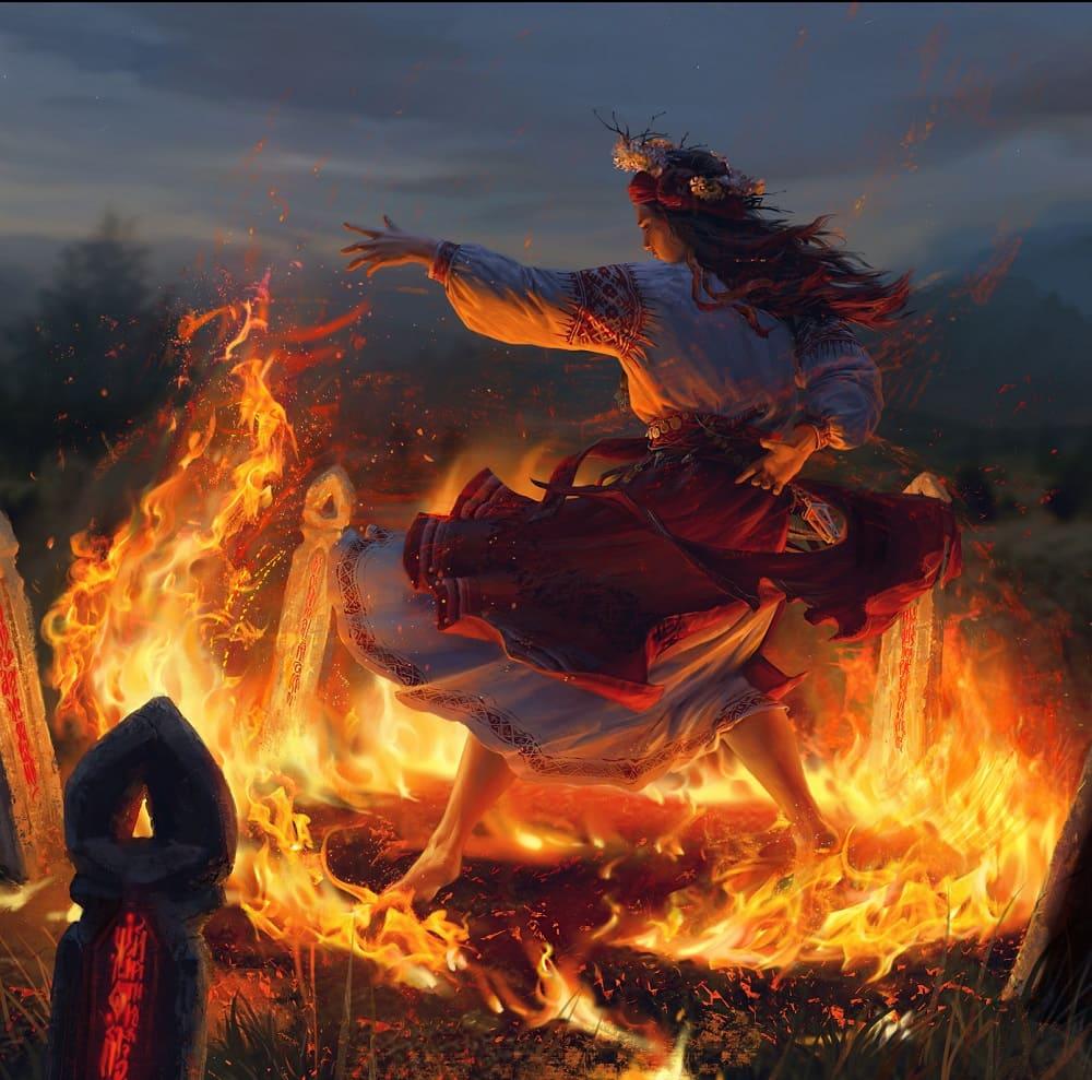 Огонь всегда манил к себе человека / © Diana Khomutina