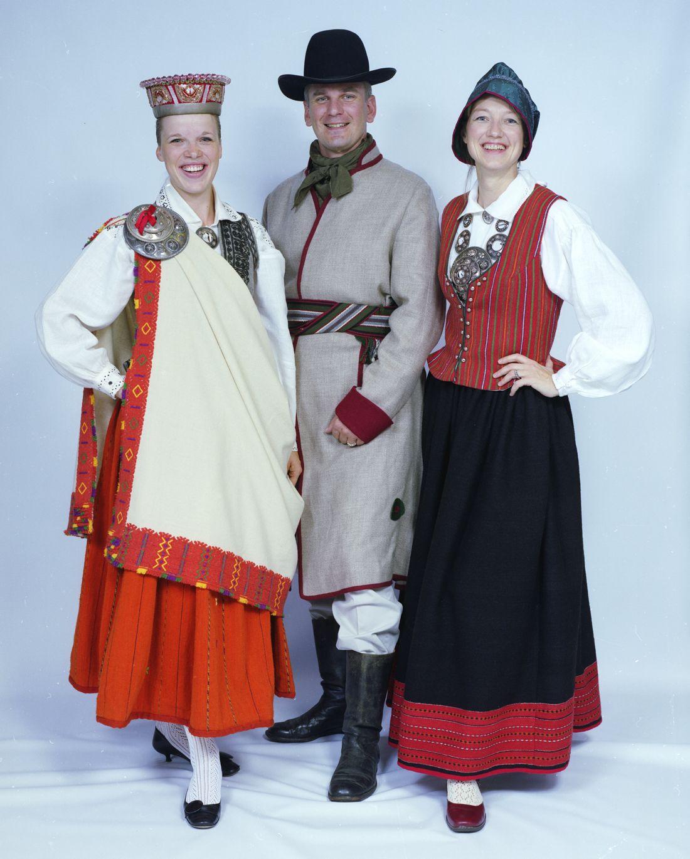Традиционные и национальные костюмы латышей / © id77 / livejournal.com