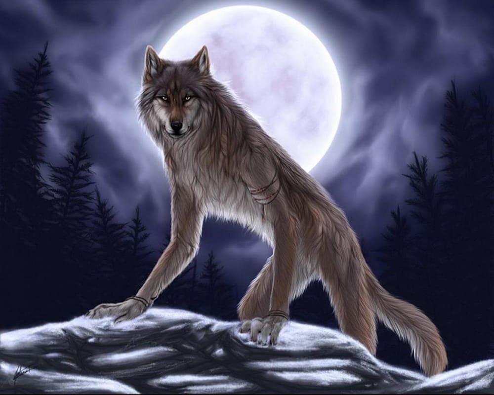 Волколак - человекоподобный зверь