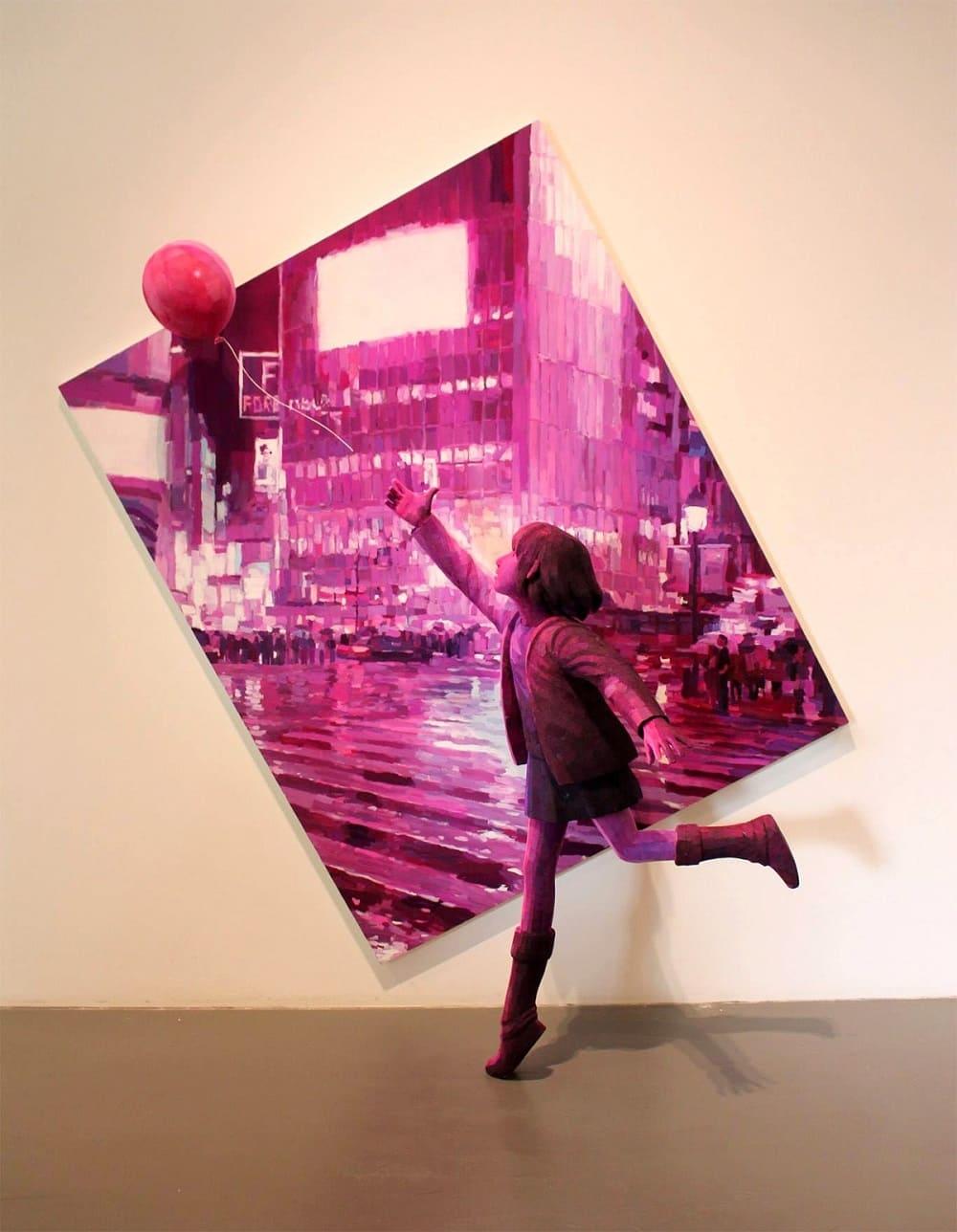 Работа японского художника Синтаро Охаты