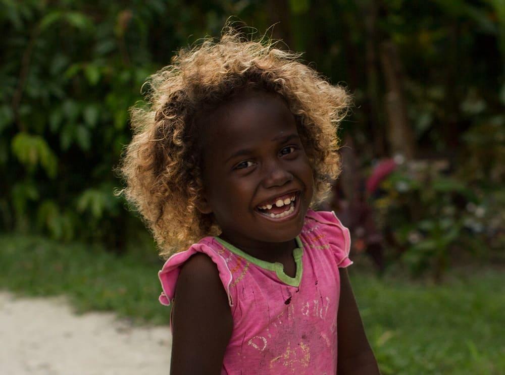 10% жителей Соломоновых островов - это темнокожие блондины / © Алёна Лебедева / buro247.ru