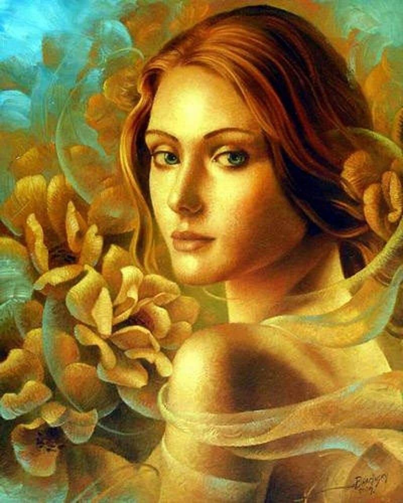 Богиня любви и красоты Афродита получила яблочко / © Артур Брагинский / newsland.com