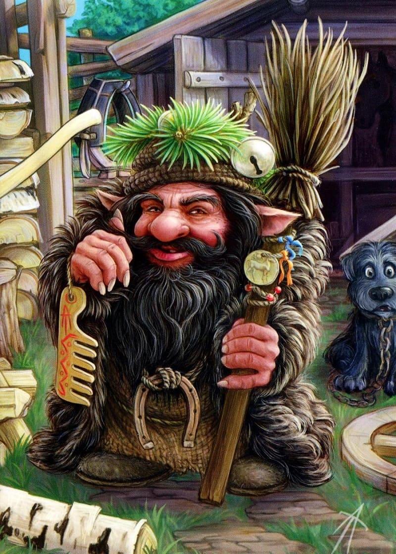 Дворовой любит зеркальца, расчёски, бусы, монетки. Этими подарками его можно задобрить / © В.Аржевитин