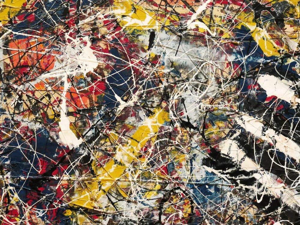 Джексон Поллок «Номер 17А», 1948 год Местонахождение: Чикагский институт искусств, Чикаго, США