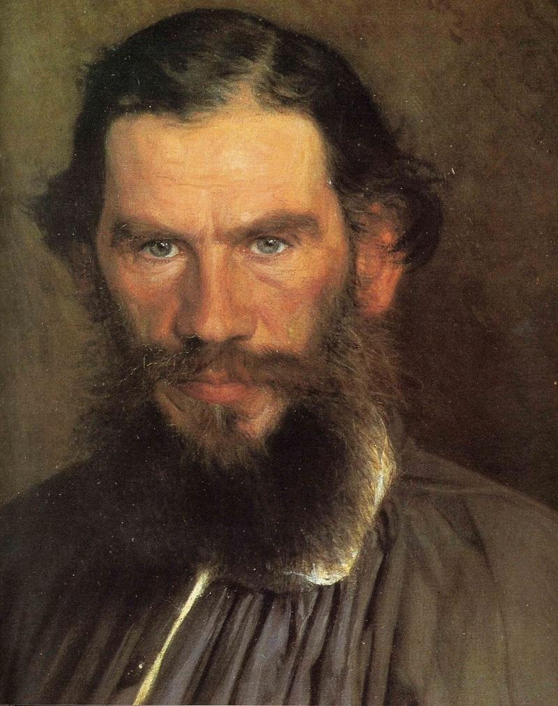 Фрагмент картины И.Н.Крамского «Портрет Льва Толстого», 1873 год Местонахождение: Третьяковская галерея, Москва, Россия