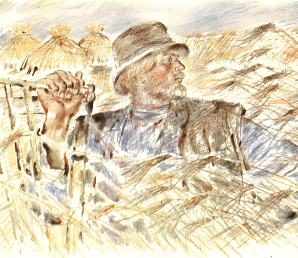 Иллюстрация к поэме Н.А.Некрасова «Кому на Руси жить хорошо» / © В. Бескаравайный / aria-art.ru