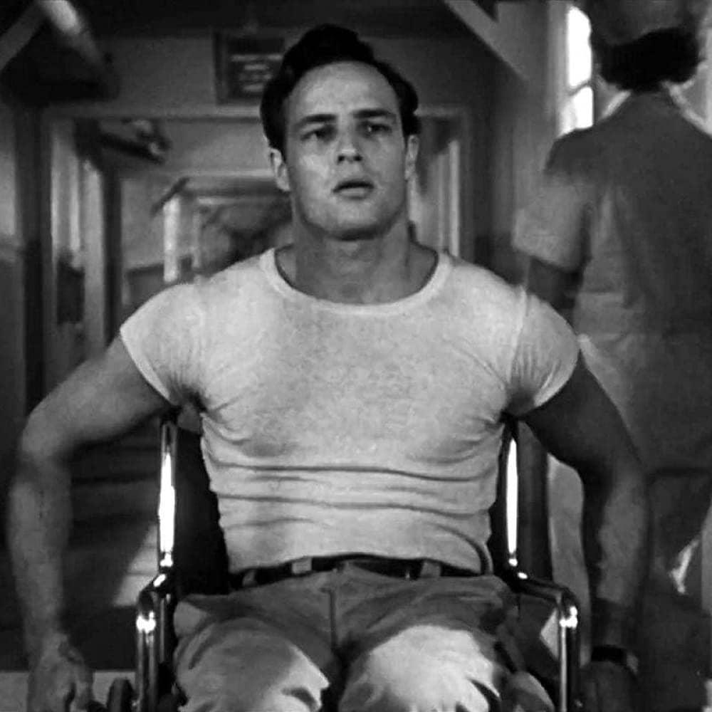 Кадр из фильма «Мужчины», 1950 год