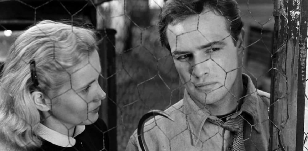 Кадр из фильма «В порту», 1954 год