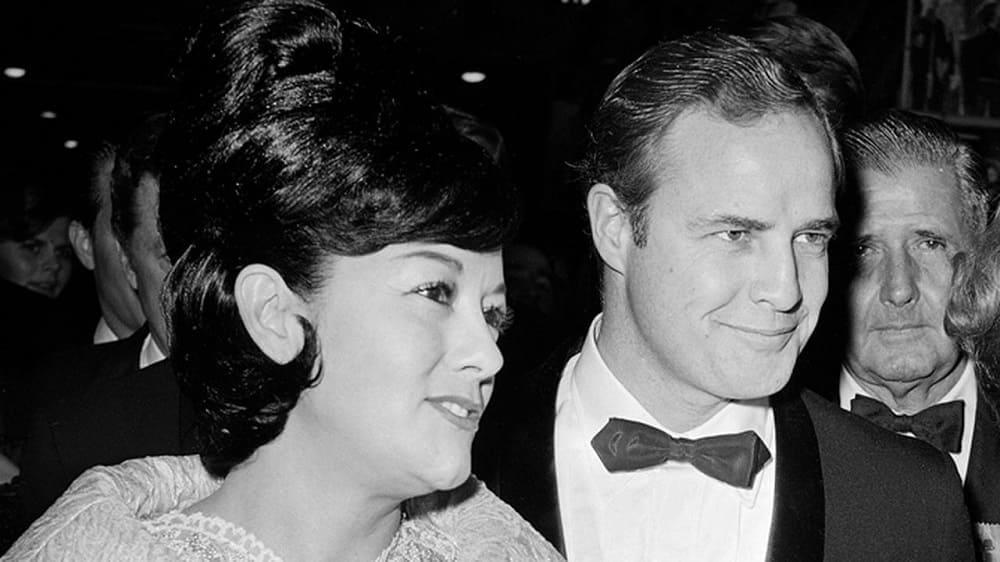 Мовита Кастанеда стала женой Брандо в 1960 году. Этот брак продлился два года