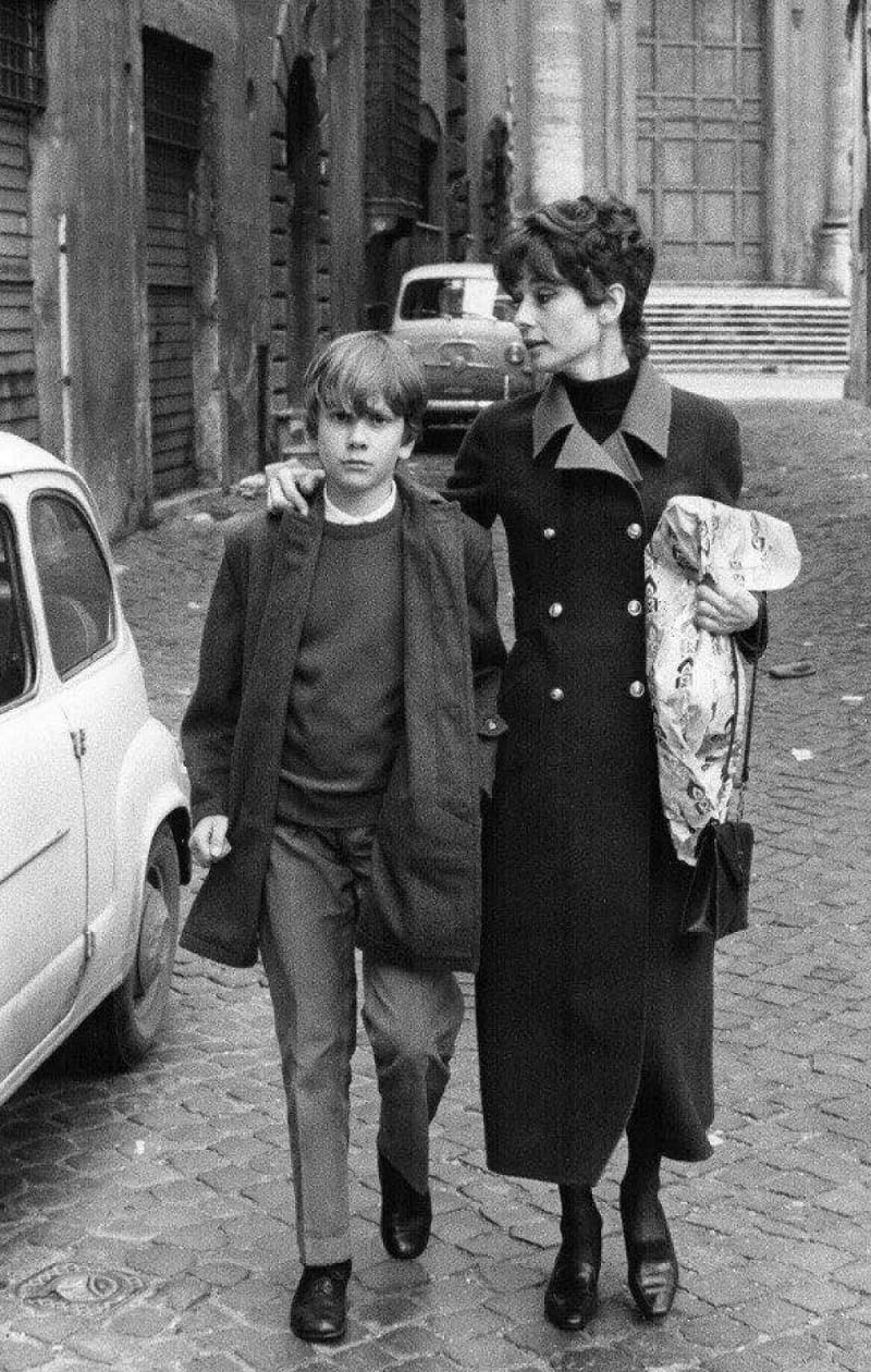 Одри Хепберн со старшим сыном Шоном / aif.ua