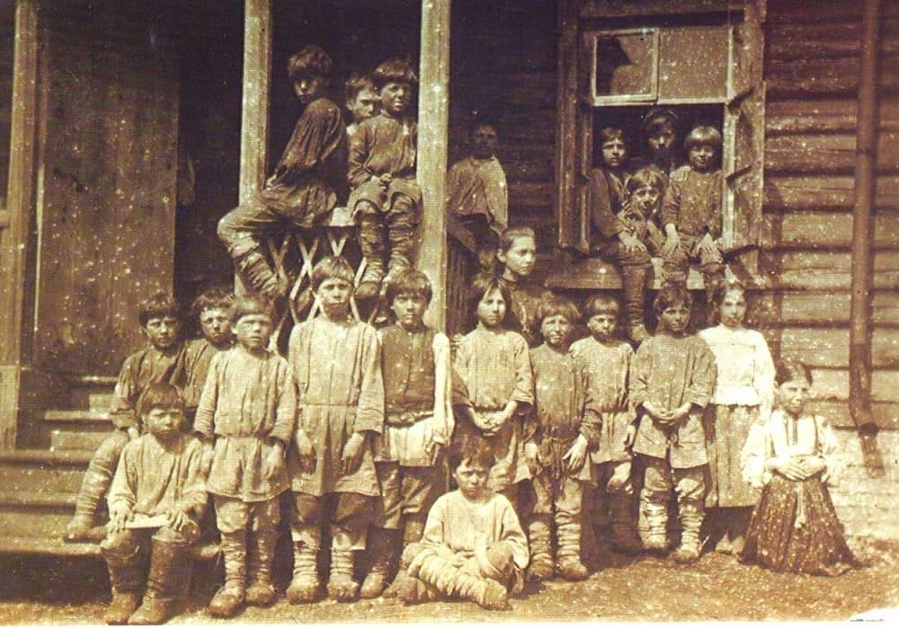 Школа для крестьянских детей, открытая Л.Н.Толстым в Ясной Поляне