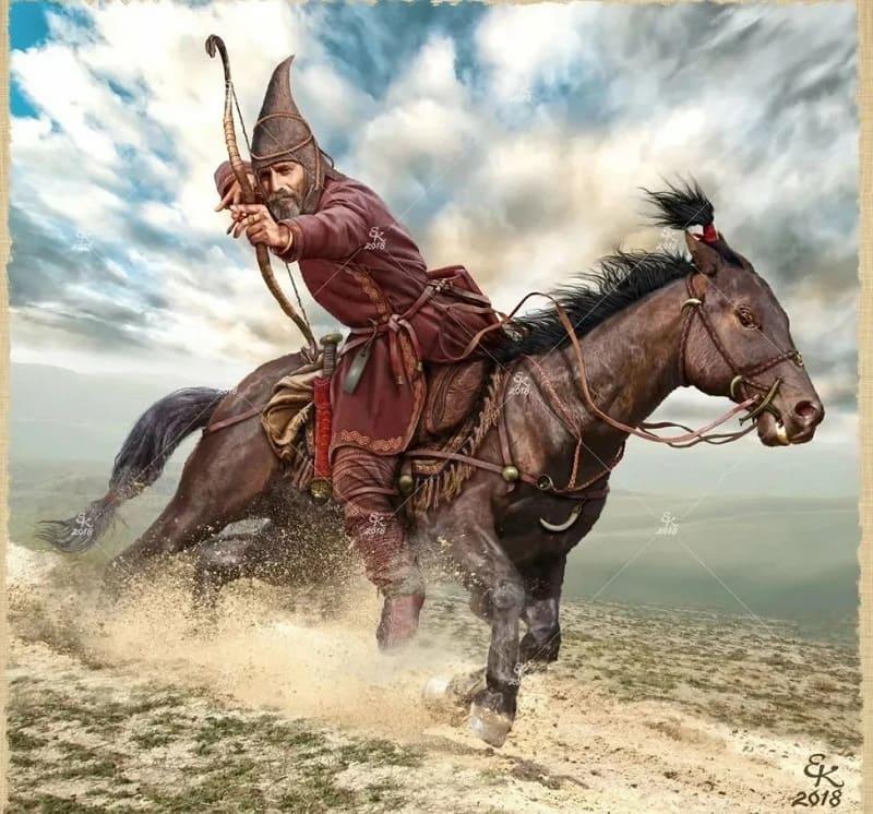 Сакский воин \ © Евгений Край