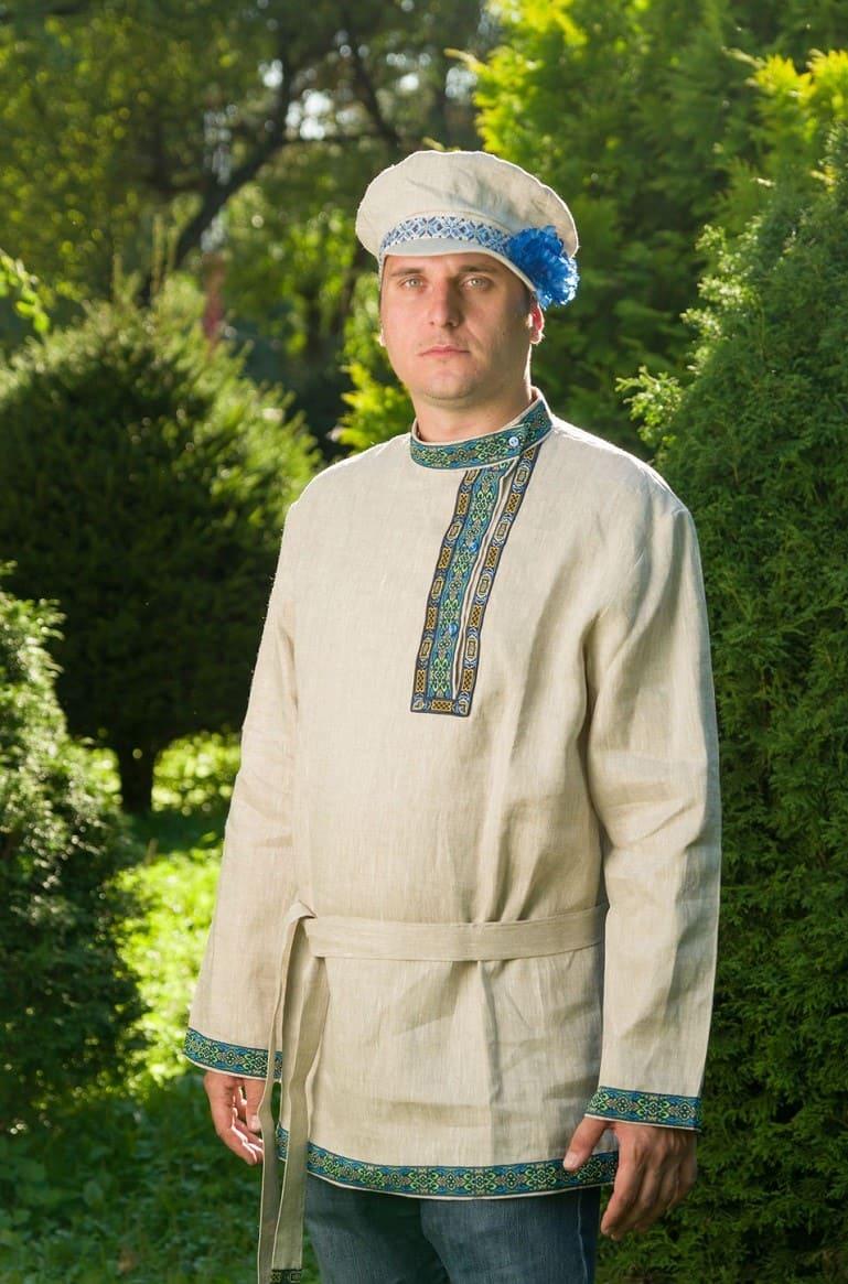 Самая русская рубашка - косоворотка / © Ольга Folkruss / livemaster.ru