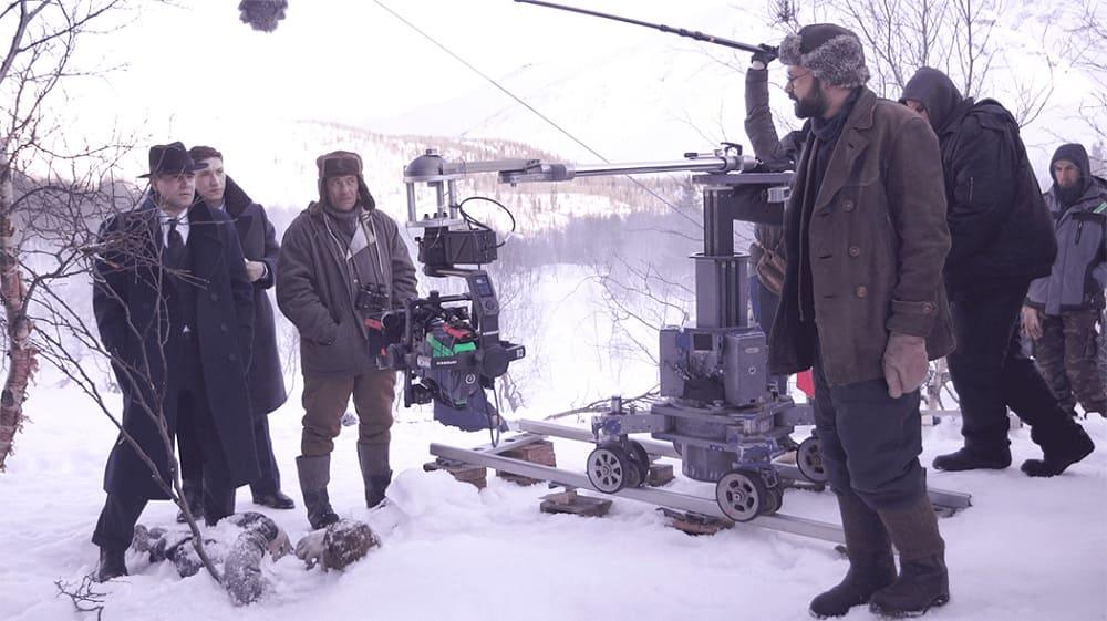 Сьемки сериала «Перевал Дятлова»