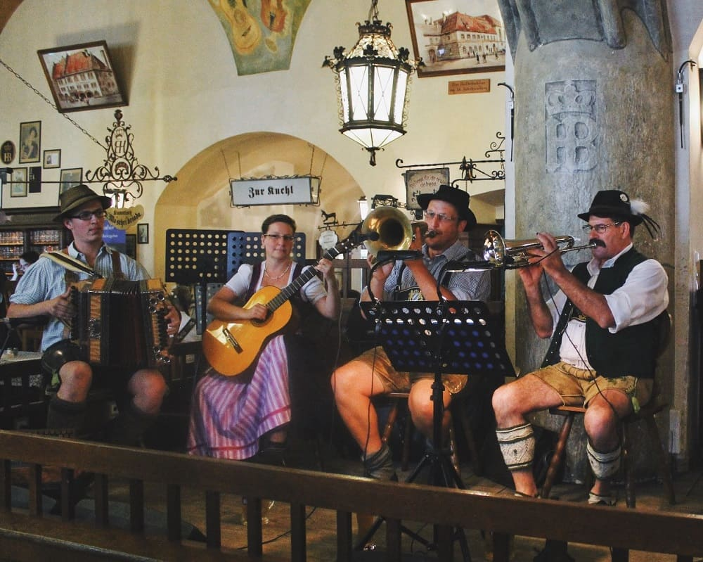 Свою жизнь баварцы не мыслят без музыки