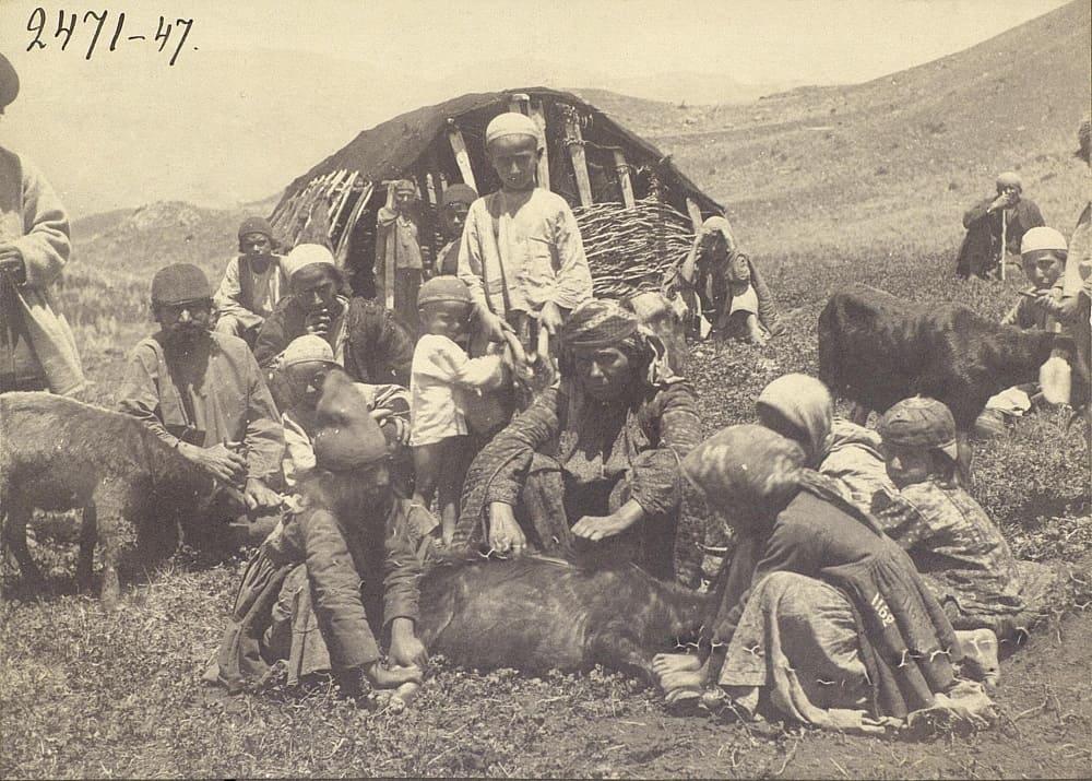 Талыши-кочевники в Персии, начало ХХ века