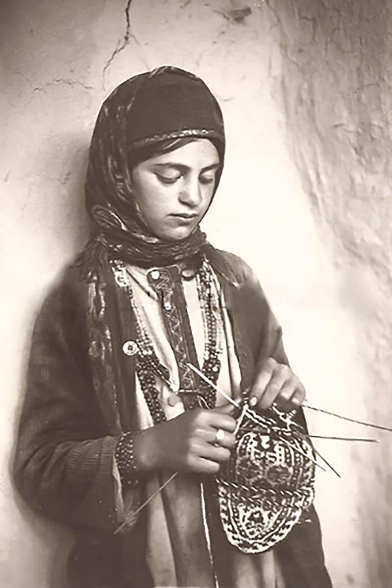 Талышская девушка, Азербайджан, 1920-е годы