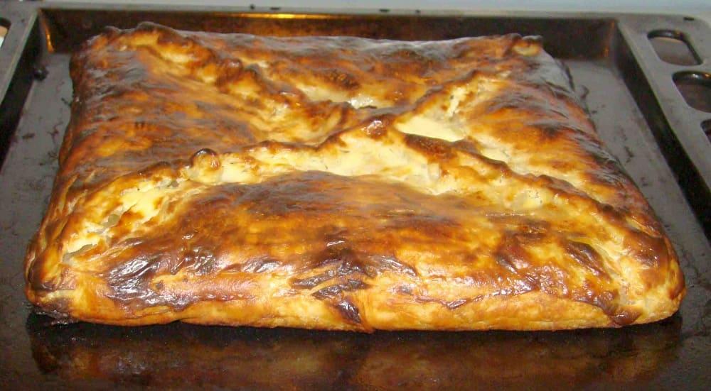 Традиционный греческий праздничный пирог шмуш / drugdelo.ru