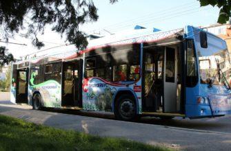 Троллейбус в Махачкале