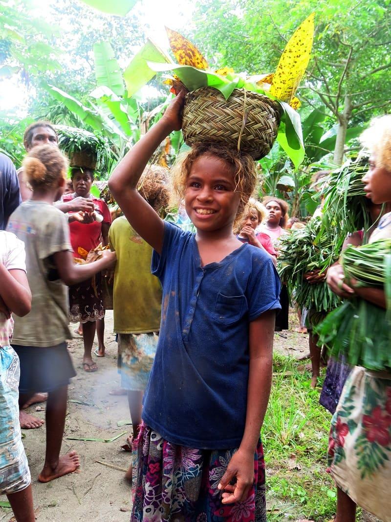 Меланезийцы - загадочные блондины с далёких островов