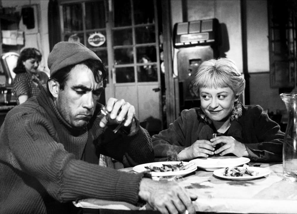 Кадр из фильма «La strada», 1954 год