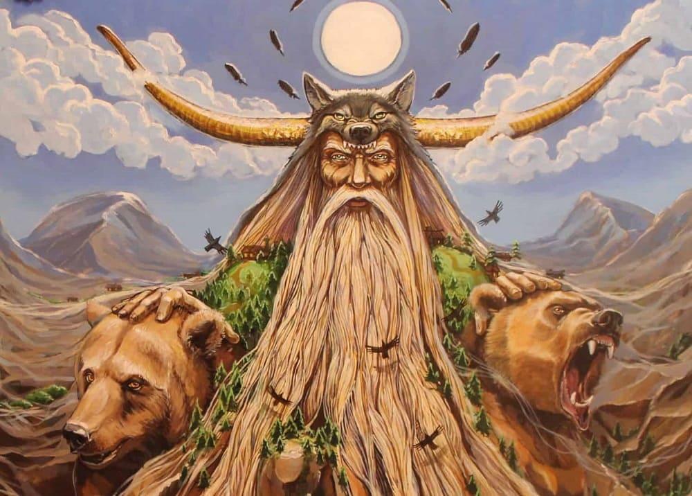 Бог Велес - один из наиболее почитаемых славянских богов / tayniymir.com