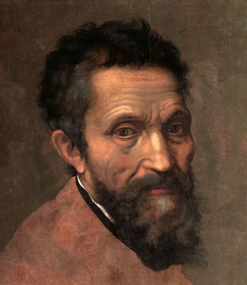 Даниэле да Вольтерра «Портрет Микеланджело Буонарроти», ок.1544 года Местонахождение: Метрополитен-музей, Нью-Йорк, США