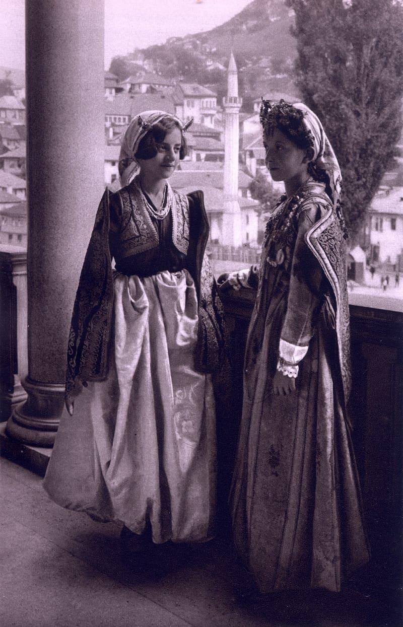 Девушки из Сараево, Босния / © Курт Хильшер, 1926 год