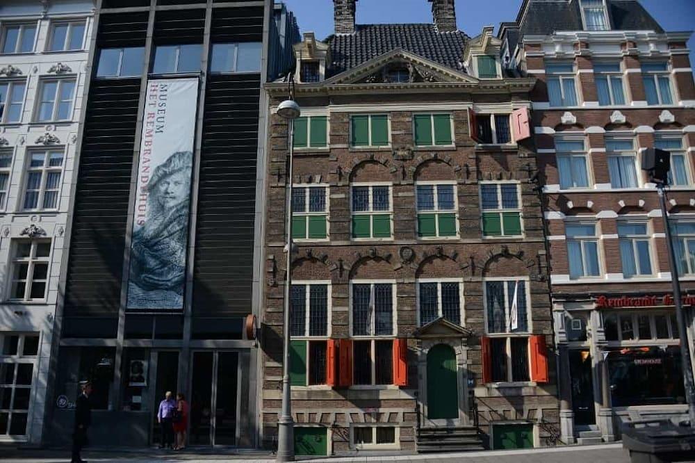 Дом-музей Рембрандта в Амстердаме. Здесь художник жил с 1639 года до своего банкротства в 1656 году / smarttravels.com.ua