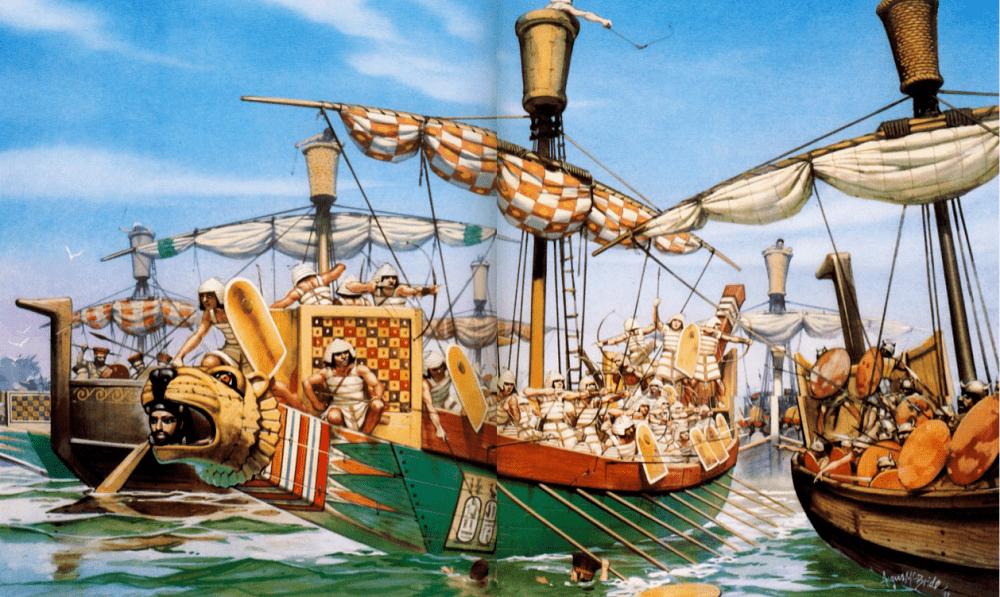 Филистимляне были настоящими морскими разбойниками, от которых страдали даже могущественные государства / hofkriegsrat.blogspot.com