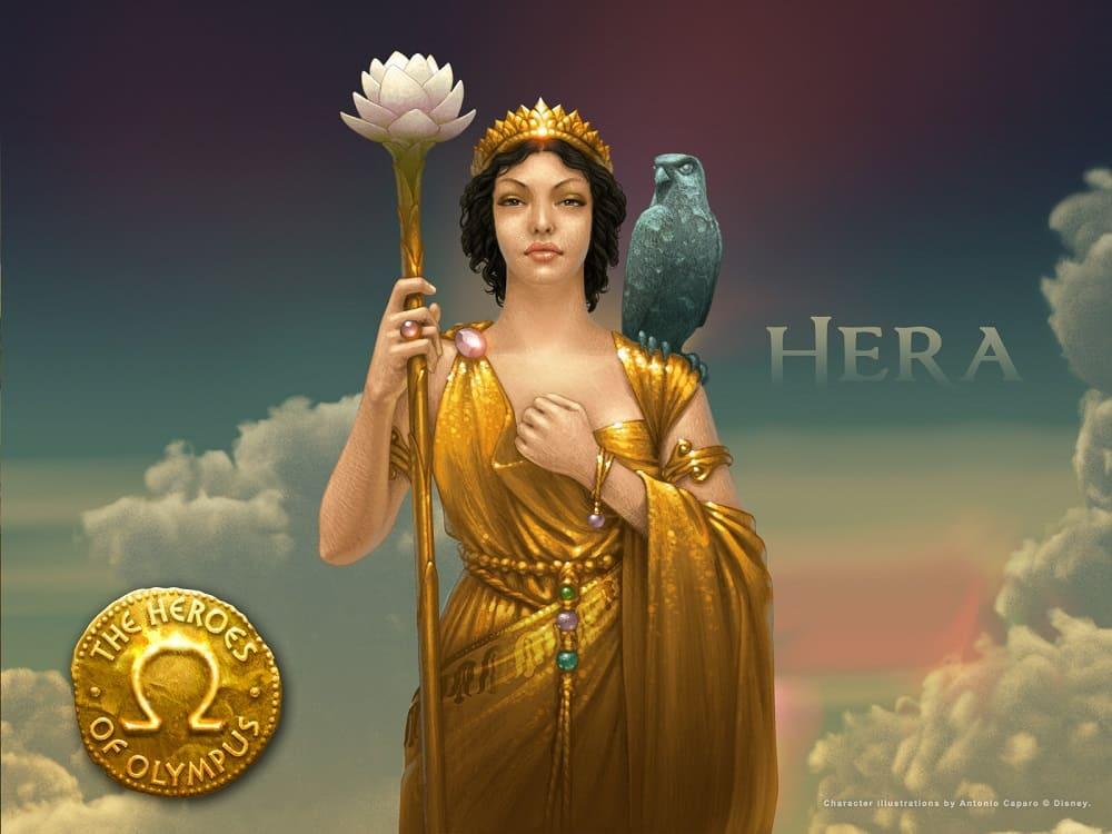 Гера, царица Олимпа и мать Илифии / © Antonio Caparo / kuaileblog.wordpress.com