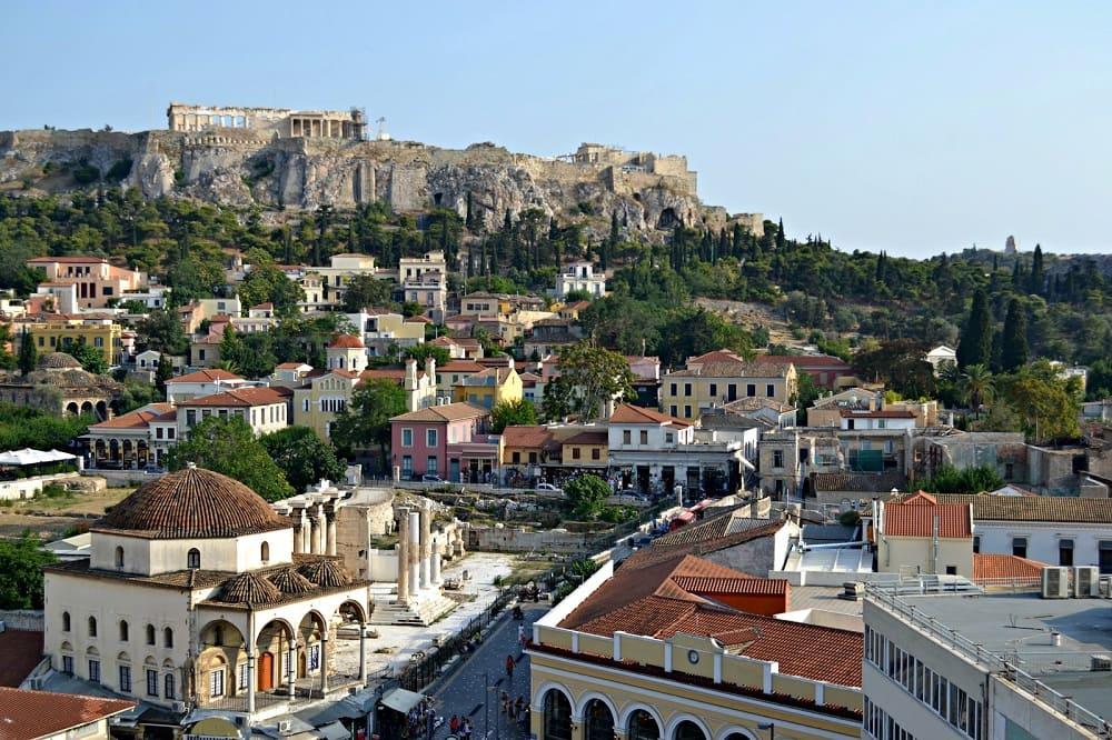 Город, основанный Кекропом, столица Греции Афины / greekbook.ru