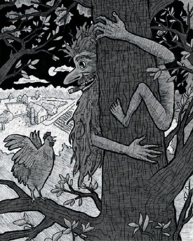 Хулиган Помберо любит красть куриные яйца / paranormal-news.ru