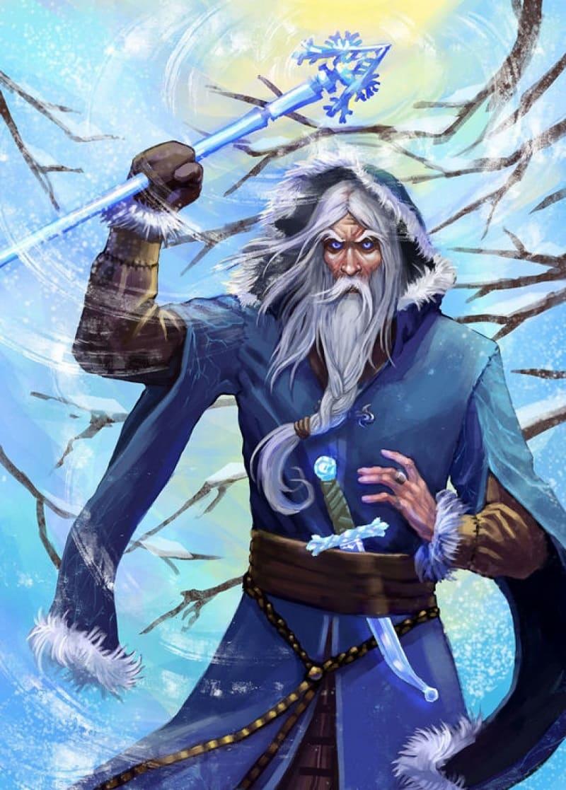 Карачун в мифологии древних славян – бог скотьего падежа и смерти от мороза. Карачун также название зимнего солнцеворота и связанного с ним праздника / ludirosta.ru