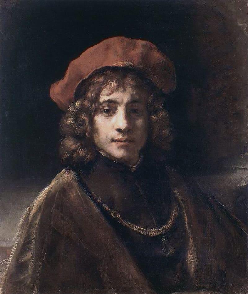 Любимый сын Титус. Рембрандт «Портрет Тита», 1657 год Местонахождение: Коллекция Уоллоса, Лондон, Великобритания