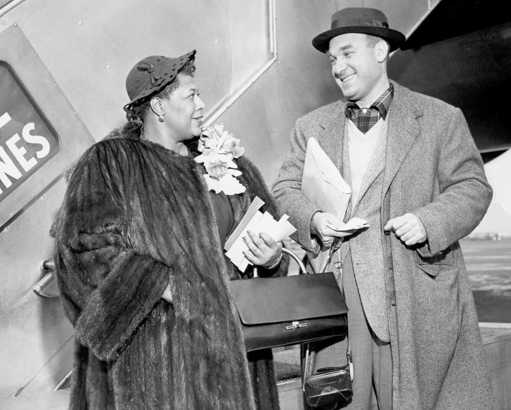 Норман Гранц был признан самым успешным импресарио в истории джаза. На фото Гранц и Элла Фицджеральд