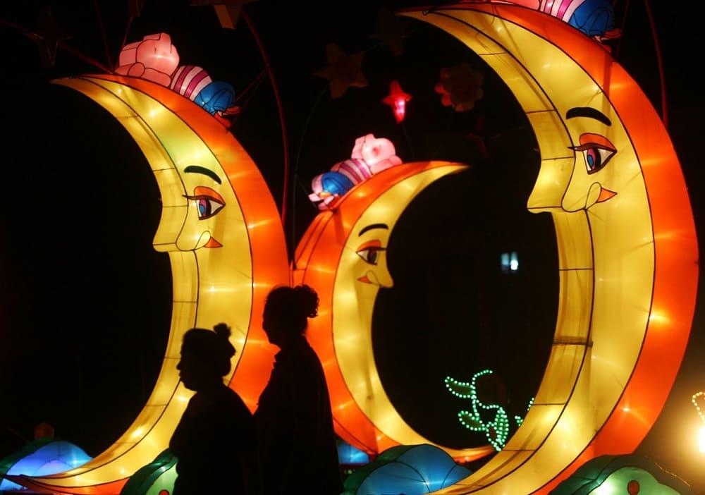 Поклонение Луне - старая традиция Праздника середины осени в Китае / etot-prazdnik.ru