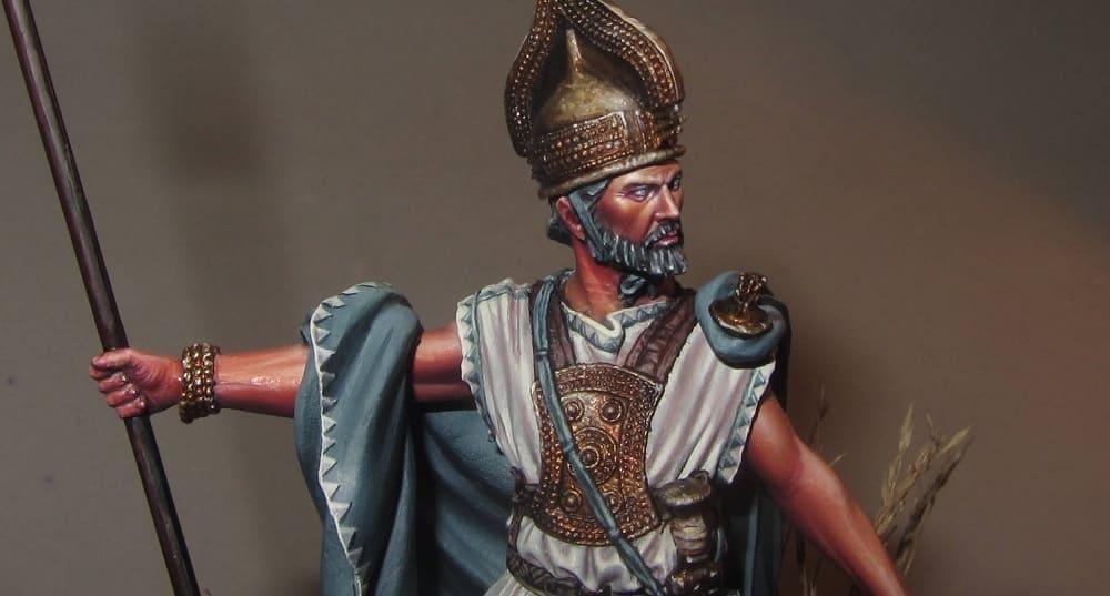 Ромул - первый царь Рима / © Aythami Alonso Torrent / notoriginalminis.com