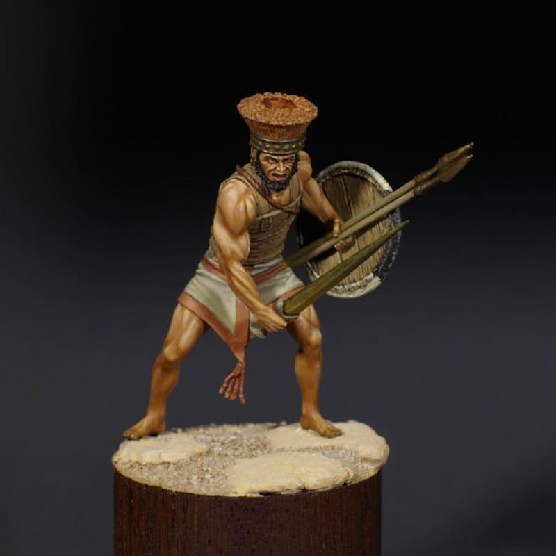 Тяжеловооруженный воин - филистимлянин XIII-XII века до н.э. / © Александр Якимов / chen-la.com