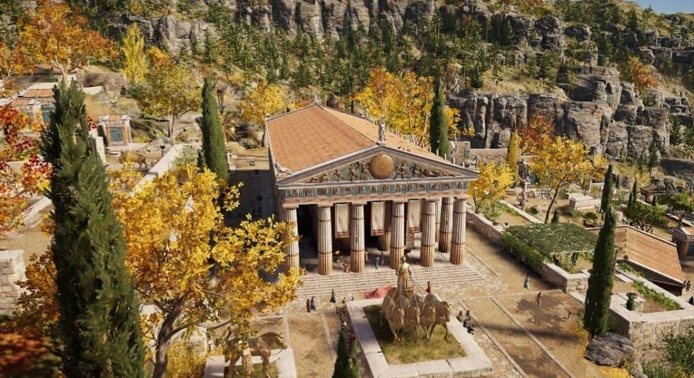 В храмах Аполлона прославляли Илифию / assassinscreed.fandom.com