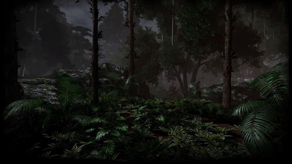 В таком лесу есть вероятность встретить волосатого эльфа Помберо / kartinkin.com