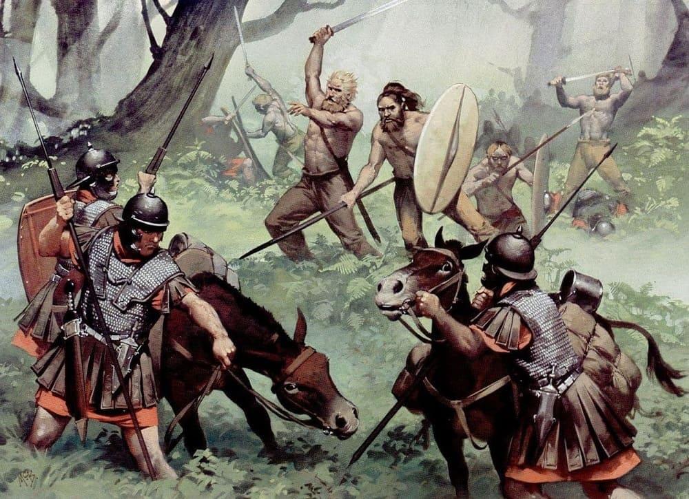 Вандалы успешно атаковали границы Западной Римской империи / udipedia.net