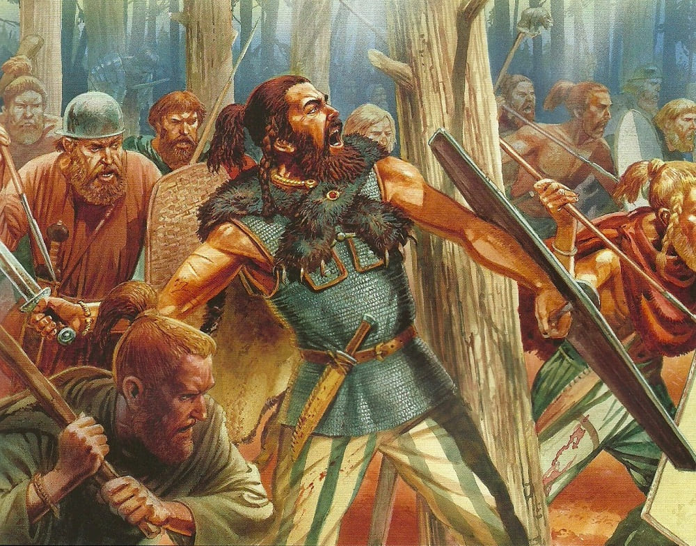 Варварские племена вандалов были храбрыми воинами, что признавали даже римляне / slavtradition.com