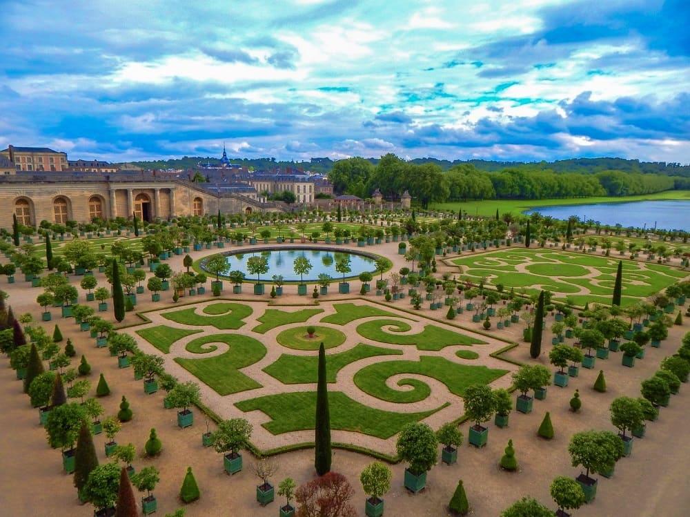 Версальский парк - идеальный партер / © Clark Van Der Beken / kptml46.threewhales.org
