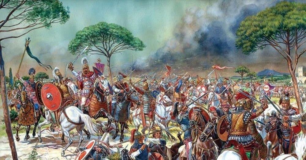 Византийская армия, ведомая полководцем Велизарием, разбила вандалов и вошла в Карфаген / grey-undead.medium.com