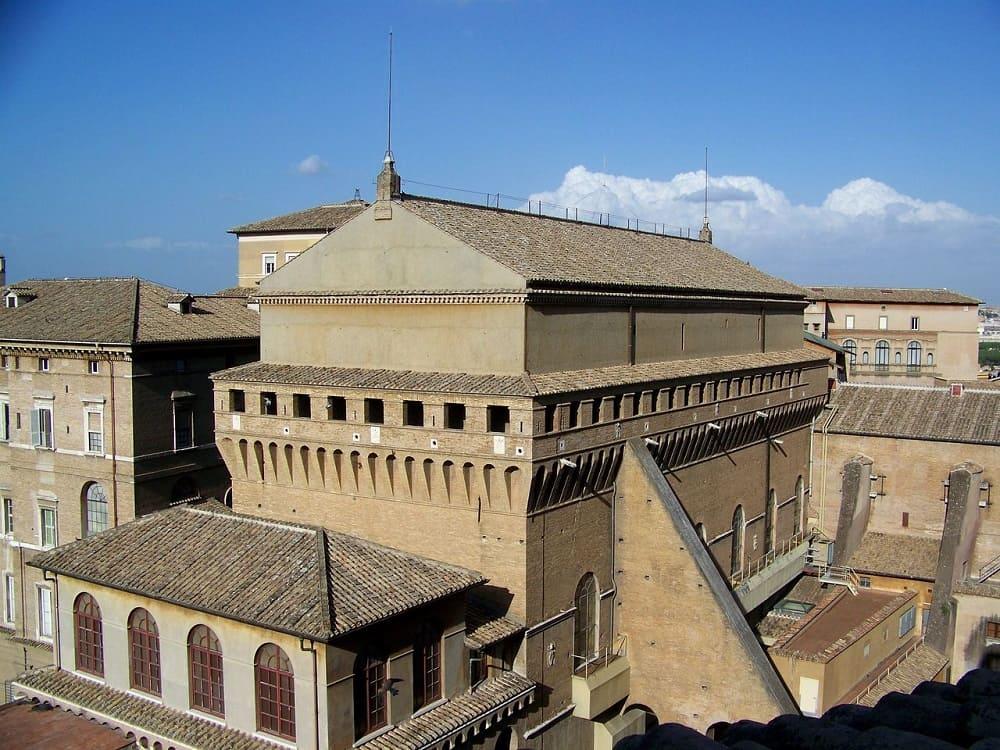 Здание Сикстинской капеллы Ватикан, Рим, Италия / © Stefano Petroni / holidaygid.ru