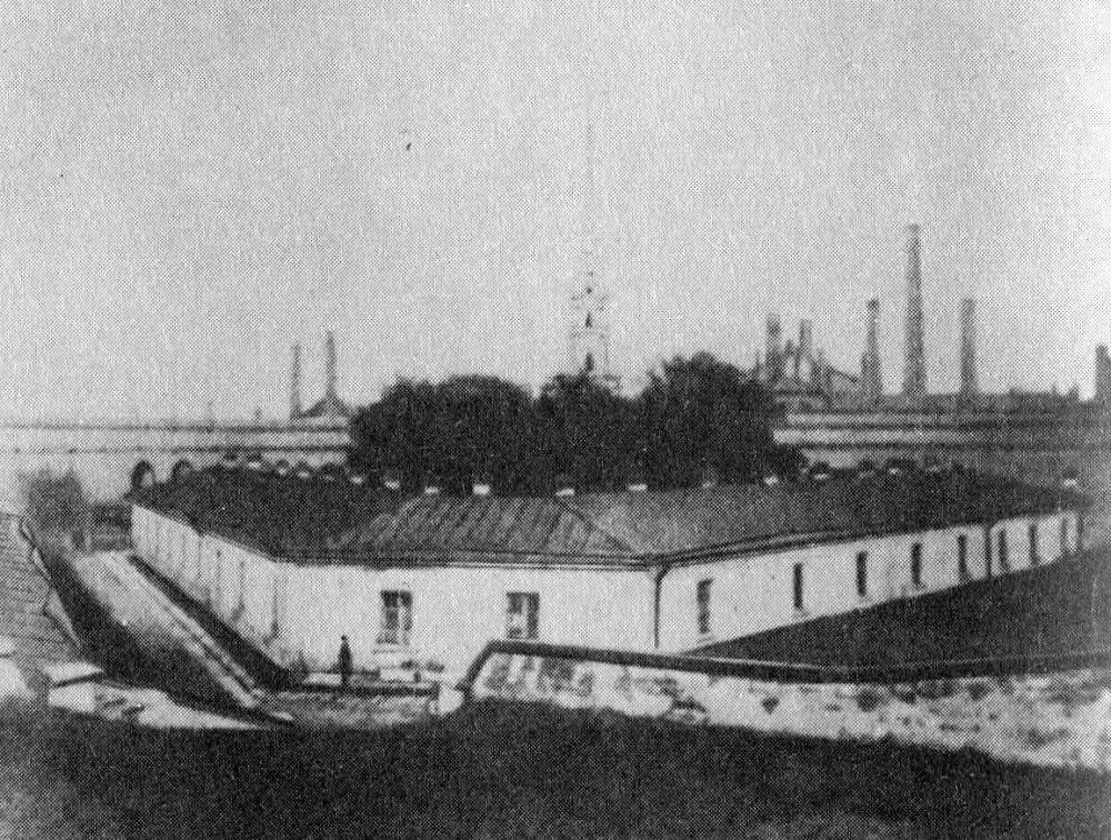 Алексеевский равелин Петропавловской крепости, где содержался в заточении Достоевский