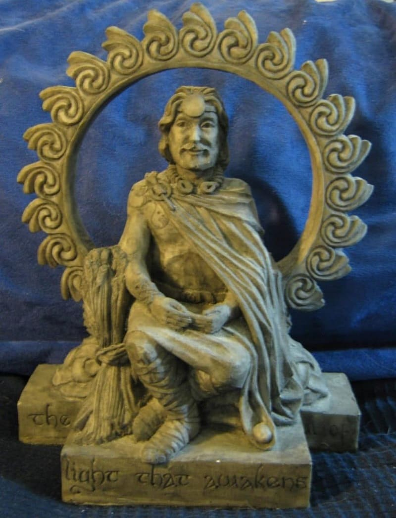 Беленус, в кельтской мифологии Бог Солнца / ecured.cu