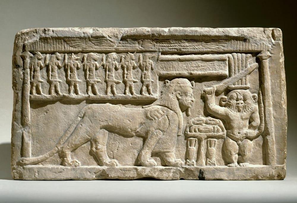 Бог Бэс и бог Туту, 332-30 годы до н.э. Местонахождение: Бруклинский музей, Нью-Йорк, США
