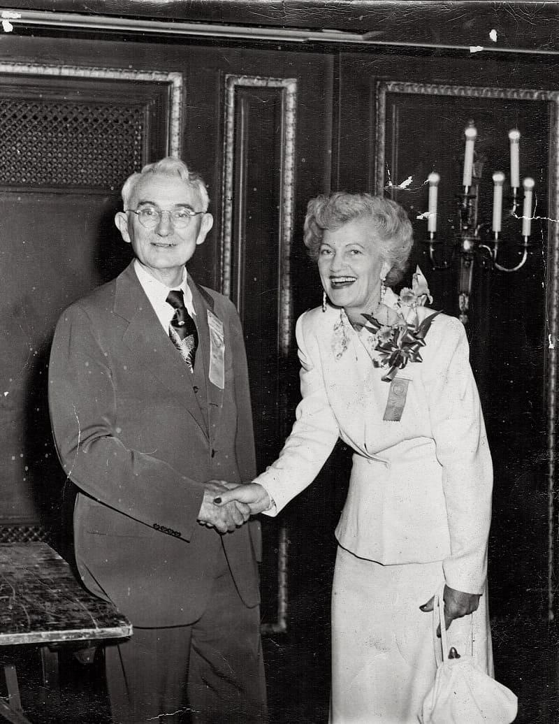 Дейл Карнеги и его первая жена Лолита Брокер